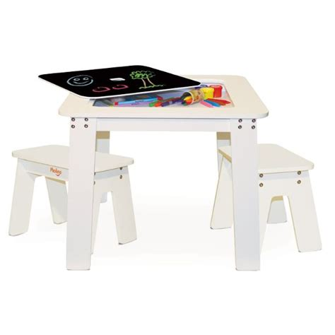 p kolino chalk table and benches games plays and chalk tables for children
