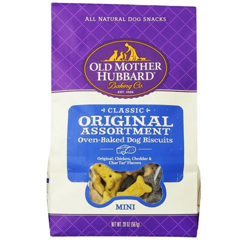 hubbard treats hubbard original assortment biscuits mini 20 oz healthypets