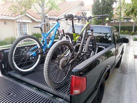 Pipeline Truck Bed Bike Rack by Pipeline In Bed Bike Rack Mountain Biking In Southern Ca