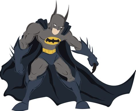 cartoon transparent batman png images batman the justice bringer png only