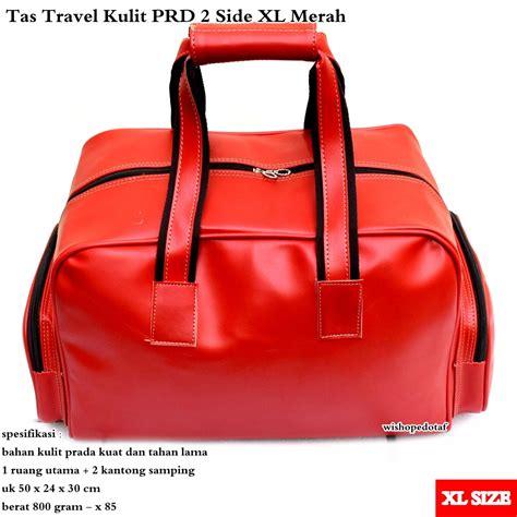 Tas Mudik Travel Kulit Kuat Prd Wide Xx Large Coklat Tua Best Seller buy tas travel besar kulit best product deals for only