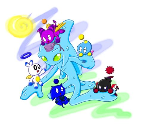 chao chao sonic chao images chaos with chao hd wallpaper and background photos 2681032