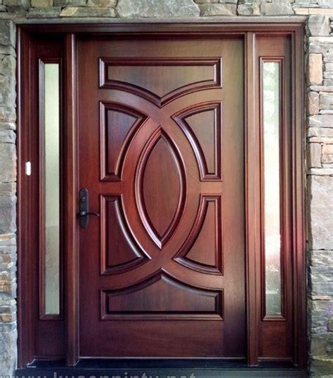 design pintu rumah kayu 22 desain pintu utama kayu jati modern minimalis