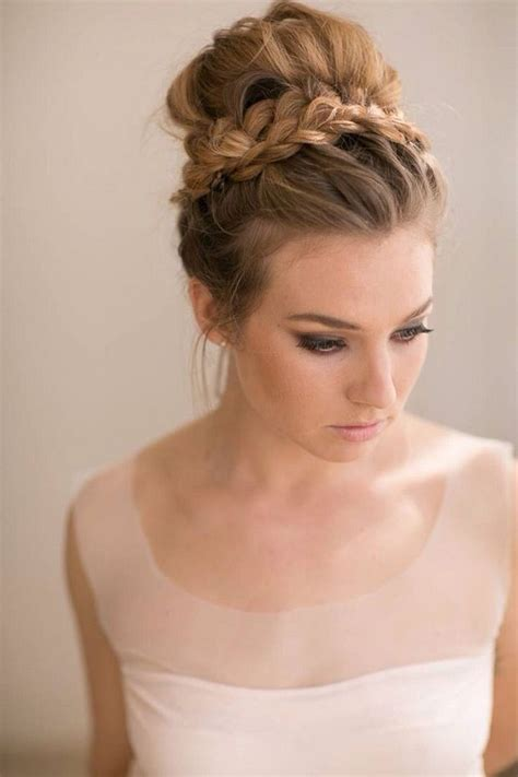 Wedding Hairstyles Braids Low Bun by Trubridal Wedding 16 Seriously Chic Vintage Wedding