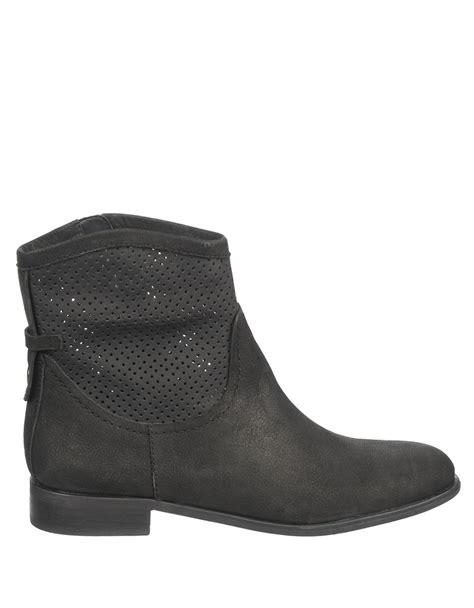 franco sarto mimosa leather boots in black lyst