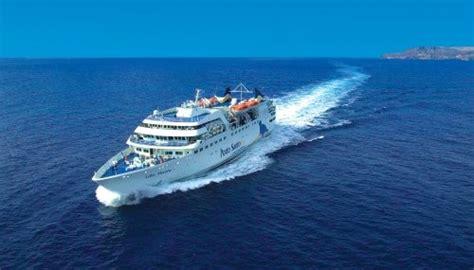 madeira to porto santo ferry porto santo line ferry between madeira and porto santo