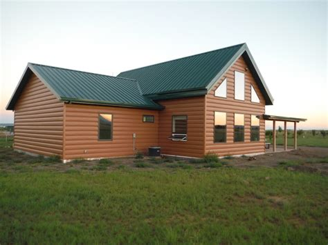 metal sided houses steel log siding log home siding cabin siding trulog steel log siding