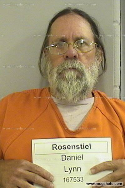 Dickinson County Court Records Daniel Rosenstiel Mugshot Daniel Rosenstiel Arrest Dickinson County Ia