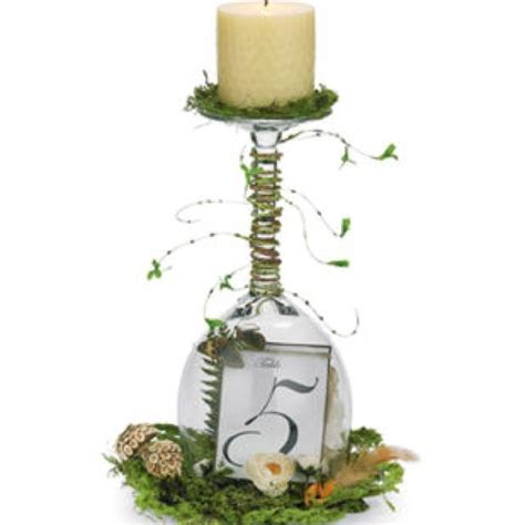 wine glasses for centerpieces 25 best ideas about wine glass centerpieces on