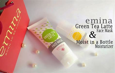 Masker Emina review emina green tea latte mask sprinkle of