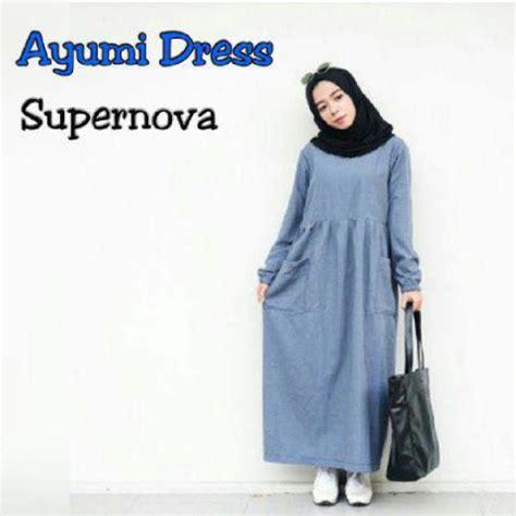 Baju Muslimah Butik Qonita 10 gaya baju gamis untuk remaja lebaran idul fitri gaya modern tutorial dan trend