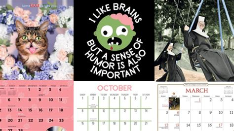 17 Fun And Unusual Calendars To Put Up Next Year Mental
