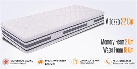 materasso ergonomico materasso ergonomico singolo in memory sommo miasuite