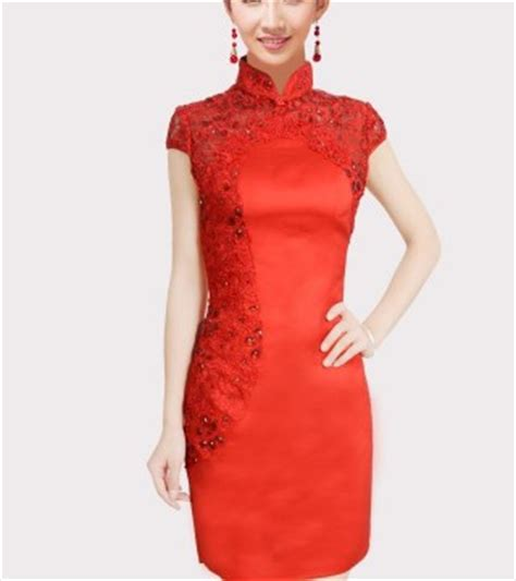 Baju Imlek Dress Cheongsam baju dress cheongsam imlek modern 2015 model terbaru