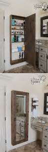 bathroom mirror with storage inside bathroom 20 clever bathroom storage ideas bath mirrors