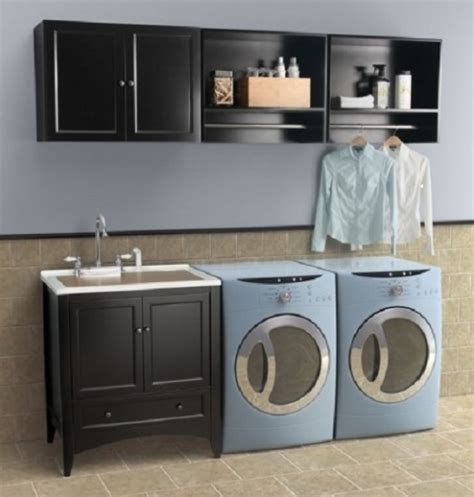 Laundry Room Sink And Cabinet Laundry Sink Vanity Home Interiors