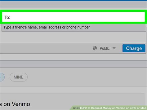 How To Search For On Venmo How To Request Money On Venmo On A Pc Or Mac 7 Steps