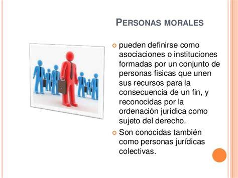 de personas morales ejemplos atributos de las personas f 237 sica y moral