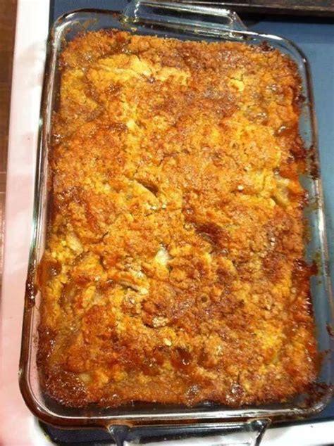 caramel apple cobbler recipe just a pinch recipes