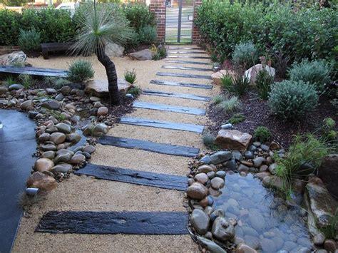 Japanese Garden Native Plants Waterfall Creek Garden Rocks Sydney