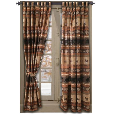 cabin kitchen curtains western rustic curtains drapes valances pillows