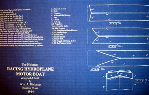 san diego speed boat races race boat hydroplane speedboat 1914 blueprint plan seajunk