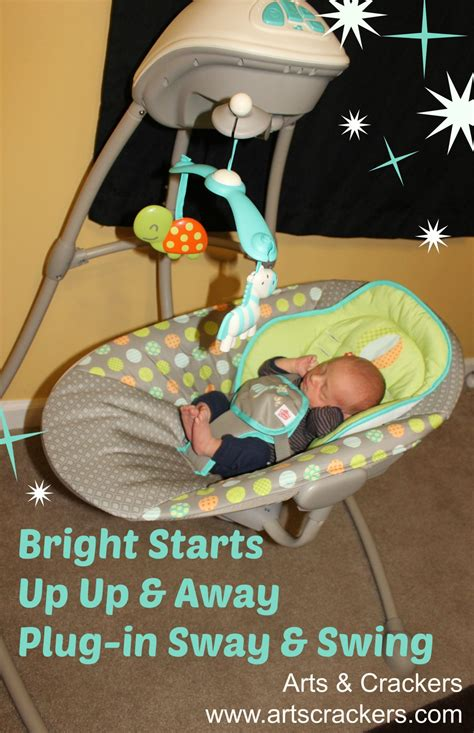 bright starts portable swing up up away bright starts swing arts crackers