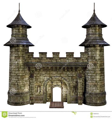House Plans Designers castle gate stock photography image 19358752