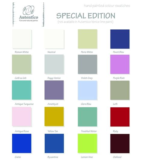 painting colours autentico paints colour chart diy shabby chic com