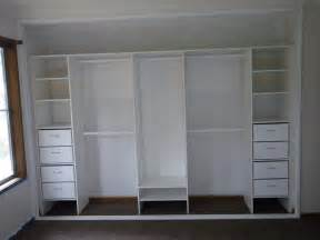 Diy Closet Shelf by Built In Closet Shelving Unit Diy Home Design Ideas Loversiq