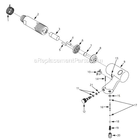 Campbell Hausfeld Pl1534 Parts List And Diagram 1998 08