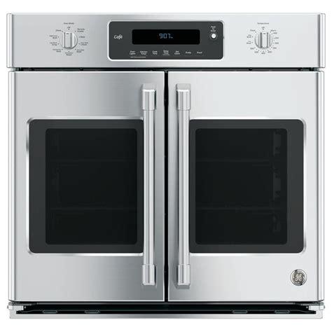 ge 30 in single electric smart door wall oven self