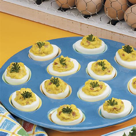 zippy deviled eggs recipe taste of home