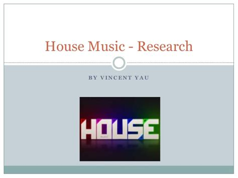 house music sharing house music research