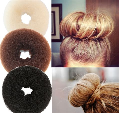 howtododoughnut plait in hair donut bun with long hair newhairstylesformen2014 com