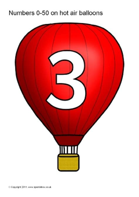 uk hot hot numbers numbers on hot air balloons number classroom display