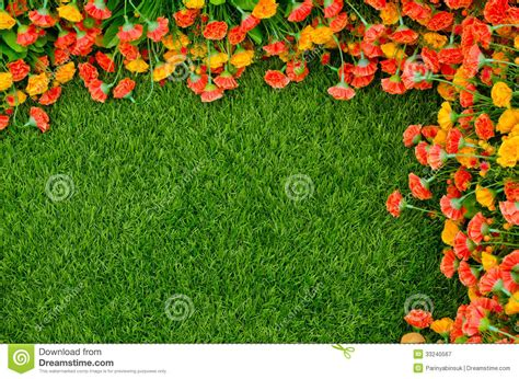 Artificial Plant Decoration Home Artificial Grass And Flowers Royalty Free Stock
