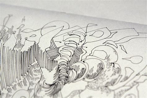 sketchbook b4 mji14 drawing cycle puzzle on behance