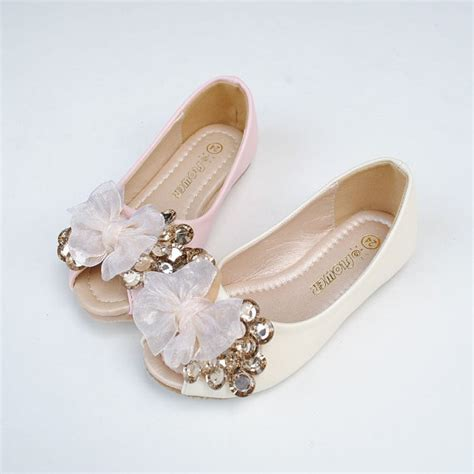 flower shoes ivory peep toe flower shoes ivory lace bow chage gems blingy