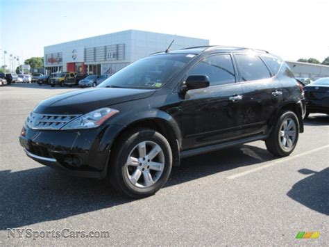 murano nissan black 2007 nissan murano s awd in super black 653263