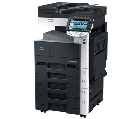 Mesin Fotocopy Minolta Bizhub 350 jual mesin fotocopy konica minolta bizhub 283 harga
