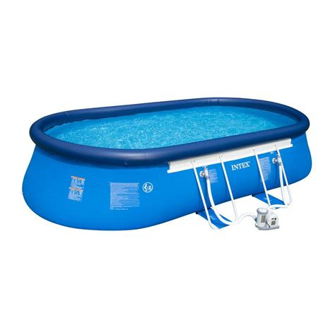 intex pools 20 ft x 12 ft x 48 in oval frame pool set
