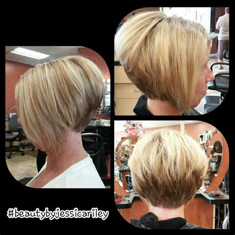high stacked layer bob serendipity salon spa on pinterest discover the best