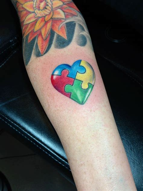 heart puzzle tattoo best 25 puzzle tattoos ideas on