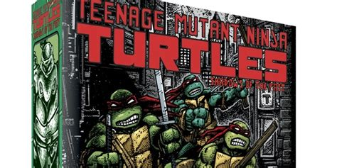 Tmnt Shadow Of The Past Boardgame shadows of the past tmnt board gets funded