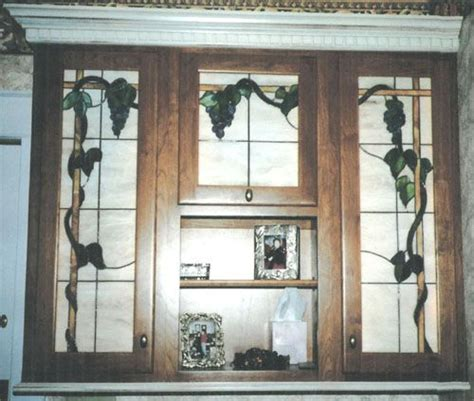 Leaded Glass Kitchen Cabinet Doors Leaded Glass Kitchen Cabinet Door Kitchen