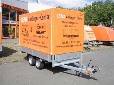 Motorradtransporter Mieten by Pkw Anh 228 Nger G 252 Nstig Mieten Lenz Anh 228 Nger Center