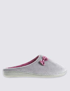 slipper boots marks and spencer womens slippers slippers m s