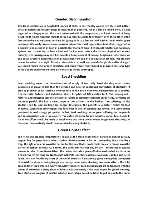 Gender Bias Essay by Essay On Gender Discrimination On Gender Discrimination Essay About Essay On Of St Century In