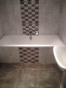 Bathroom Feature Tile Ideas Mosaic Tiles On Bath Panel Google Search Home Ideas